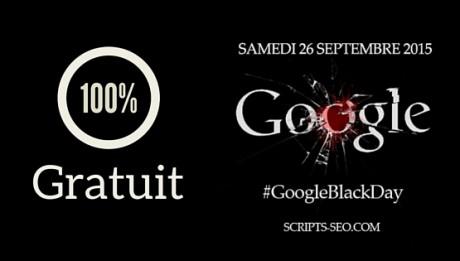 Google black day